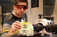 Entwicklung neuer Produkte im Berlin Heart Laserlabor