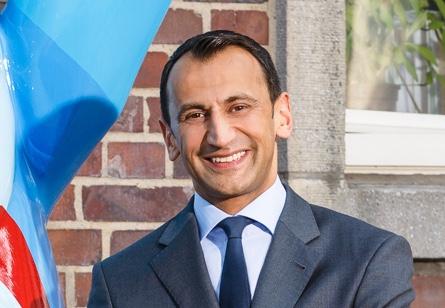 Portrait von Dr. Ares K. Menon, Geschäftsführer der Berlin Heart GmbH